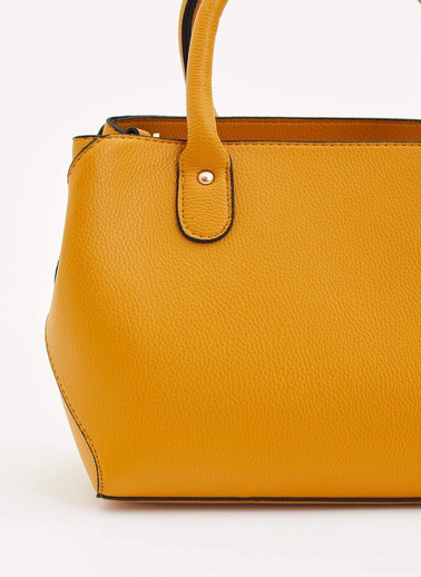 DeFacto Kısa Saplı Çanta Sarı